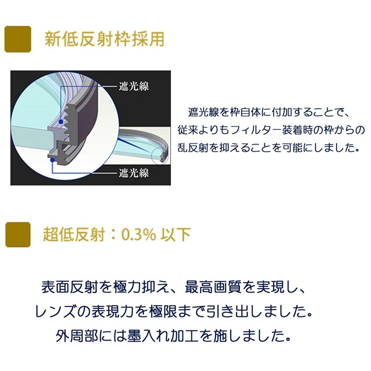 マルミ エグザス レンズ保護フィルター EXUS LENS PROTECT 67mmの商品画像 2