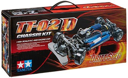 タミヤ 1/10RC TT-02D ドリフトスペック シャーシキット 58584の商品画像|ナビ