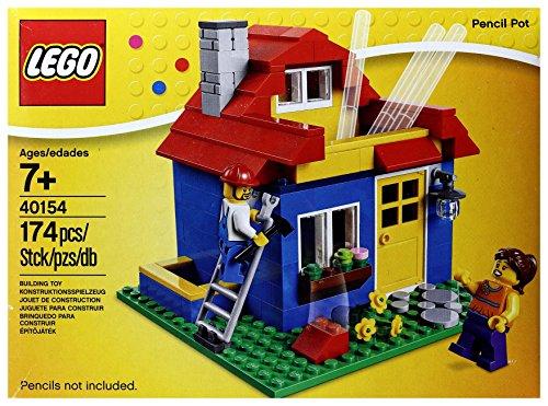 レゴ 40154 ハウス型ペン立ての商品画像 ナビ