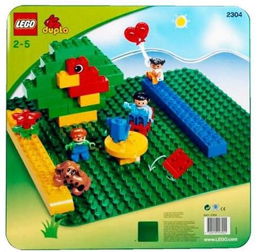 レゴ 2304 基礎板 緑の商品画像|ナビ