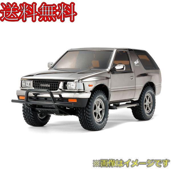 タミヤ 1/10RC いすゞ ミュー TYPE X ブラックメタリックスペシャル(CC-01シャーシ) 47383の商品画像|ナビ