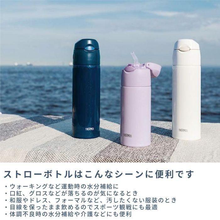 真空断熱ストローボトル 0.55L(ネイビー)FHL-551 NVYの商品画像|3