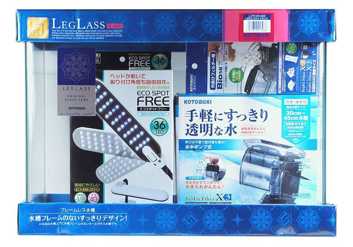 コトブキ工芸 レグラス R-400 LEDエコライトセットの商品画像|3