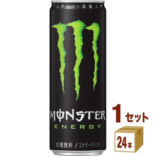 アサヒ飲料 モンスターエナジー 355ml×24本 缶の商品画像|ナビ