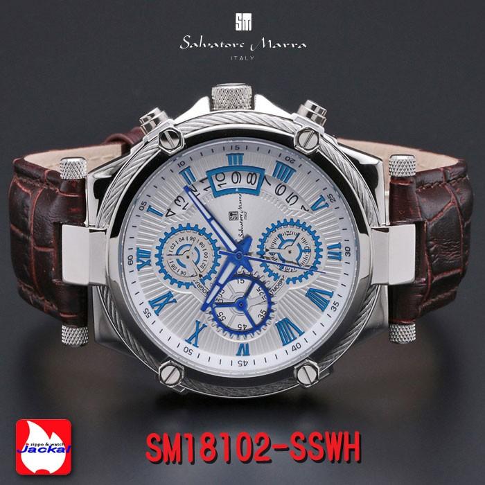 メンズモデル クロノグラフ SM18102-SSWHの商品画像|2