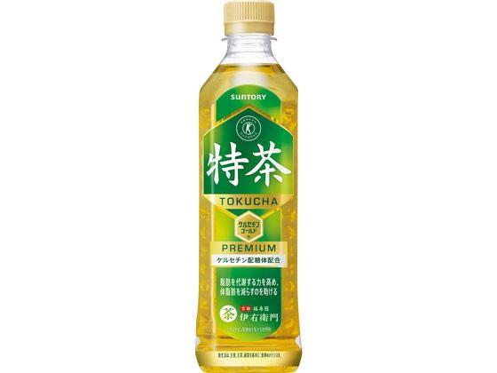 サントリー緑茶 伊右衛門 特茶 500ml × 1本 ペットボトルの商品画像 ナビ