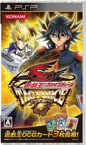 【PSP】コナミデジタルエンタテインメント 遊戯王ファイブディーズ タッグフォース6の商品画像 ナビ