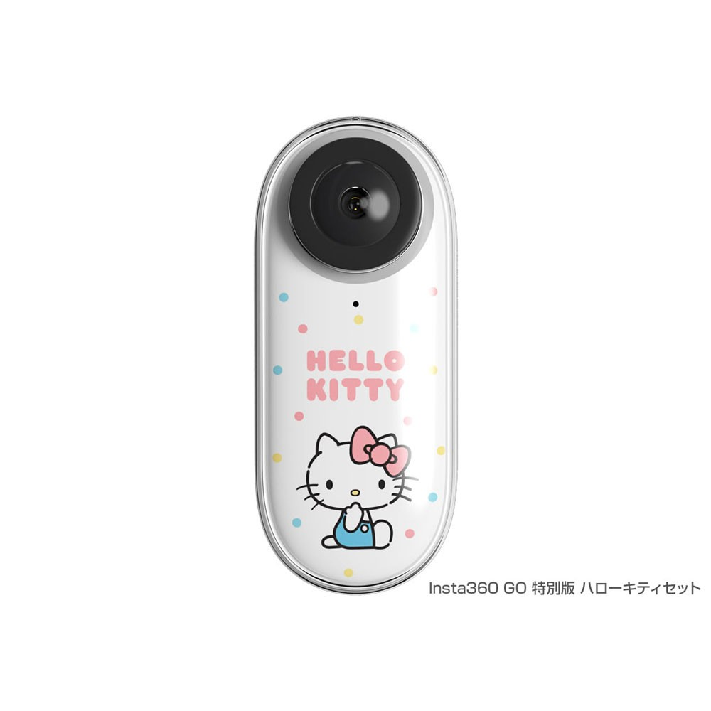 Shenzhen Arashi Vision Insta360 GO 特別版 ハローキティセット [CING0XX/E] [CM552]の商品画像|ナビ