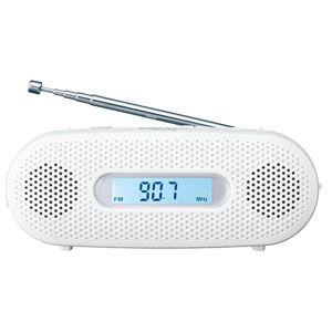 パナソニック AM/ FMワイド手回し充電ラジオ(ホワイト) Panasonic RF-TJ20-W 返品種別A