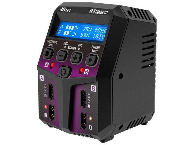 ハイテック 充電器 ACバランスチャージャー X2 バーティカル コンパクト AEG 44297-AEGの商品画像|ナビ