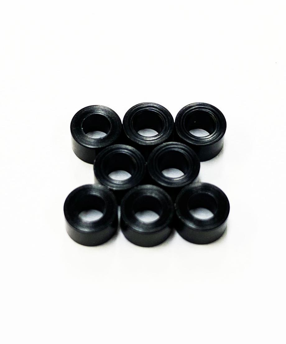 TOPLINE 黒色デルリンスペーサー M2.6 3.0mm TP-5130の商品画像|ナビ