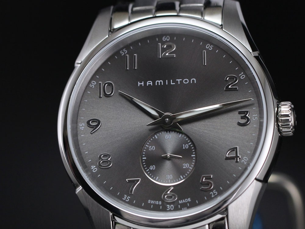 ハミルトン ジャズマスター シンライン スモールセコンド H38411183(GR)の商品画像 4