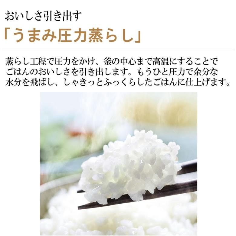 象印 NP-ZT10-TD 圧力IH炊飯ジャー 極め炊き 5.5合炊き ダークブラウンの商品画像 4
