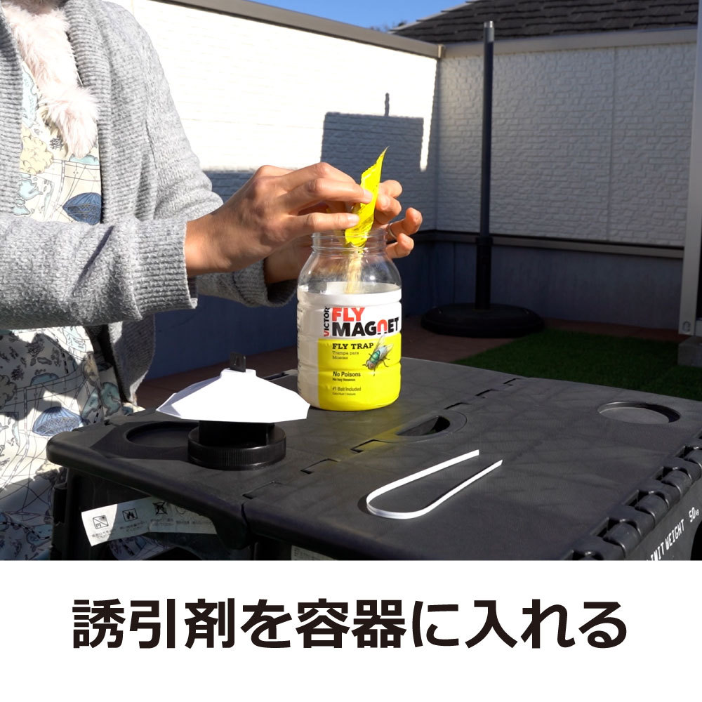 フライマグネット 誘引剤1袋付き × 1の商品画像 3