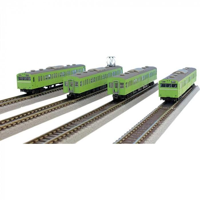 ロクハン 国鉄103系 ウグイス山手線タイプ 4両基本セット T022-5の商品画像 ナビ