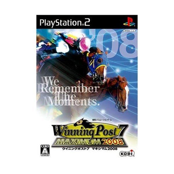 【PS2】 Winning Post7 MAXIMUM 2008の商品画像 ナビ