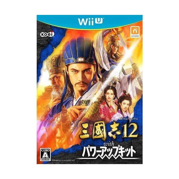 【Wii U】コーエーテクモゲームス 三國志12 with パワーアップキットの商品画像 ナビ