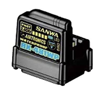 サンワ レシーバー RX-481WP(2.4GHz FHSS4/FHSS3)107A41311Aの商品画像|ナビ