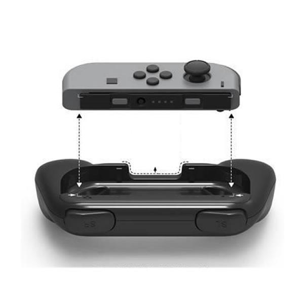 Nintendo Switch専用 ジョイコンハンドル 2台セット Joy Con ハンドル