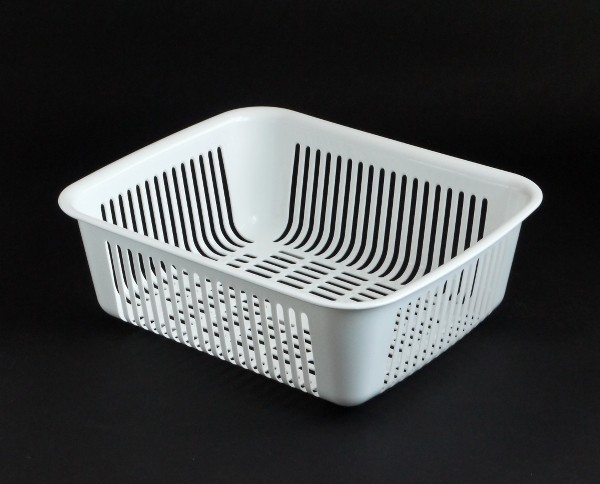 水切りかご 35×29×高さ12cm ホワイト