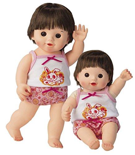 ピープル ぽぽちゃん・ちいぽぽちゃん兼用 うさちゃん柄お姉さんパンツ&キャミソールの商品画像|ナビ