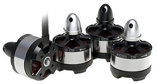 ジーフォース Brushless Motor(4pcs)for Drone1806-2300KV G0222の商品画像|ナビ