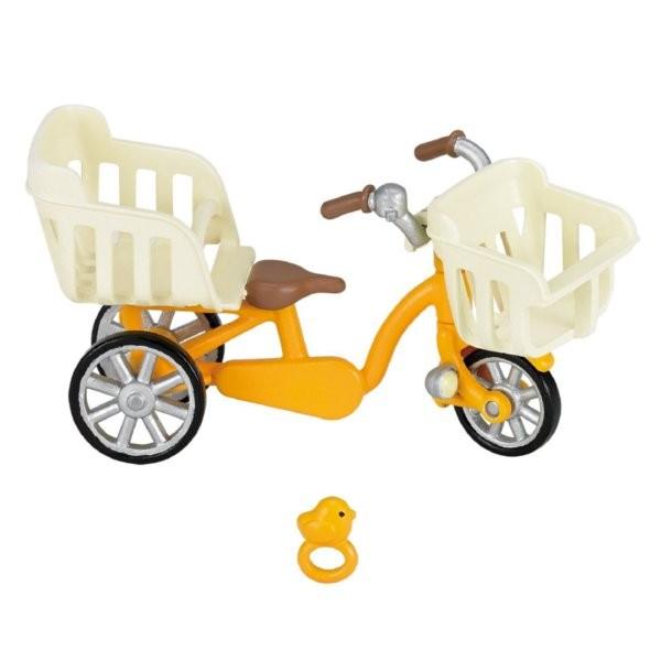 エポック社 シルバニアファミリー 三人乗り自転車の商品画像 ナビ