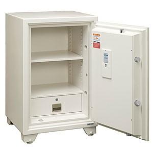 エーコー 700シリーズ テンキー式 耐火金庫 701EKG ホワイトの商品画像|2