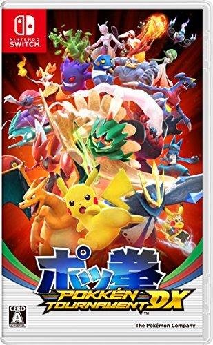 【Switch】ポケモン ポッ拳 POKKEN TOURNAMENT DXの商品画像 ナビ
