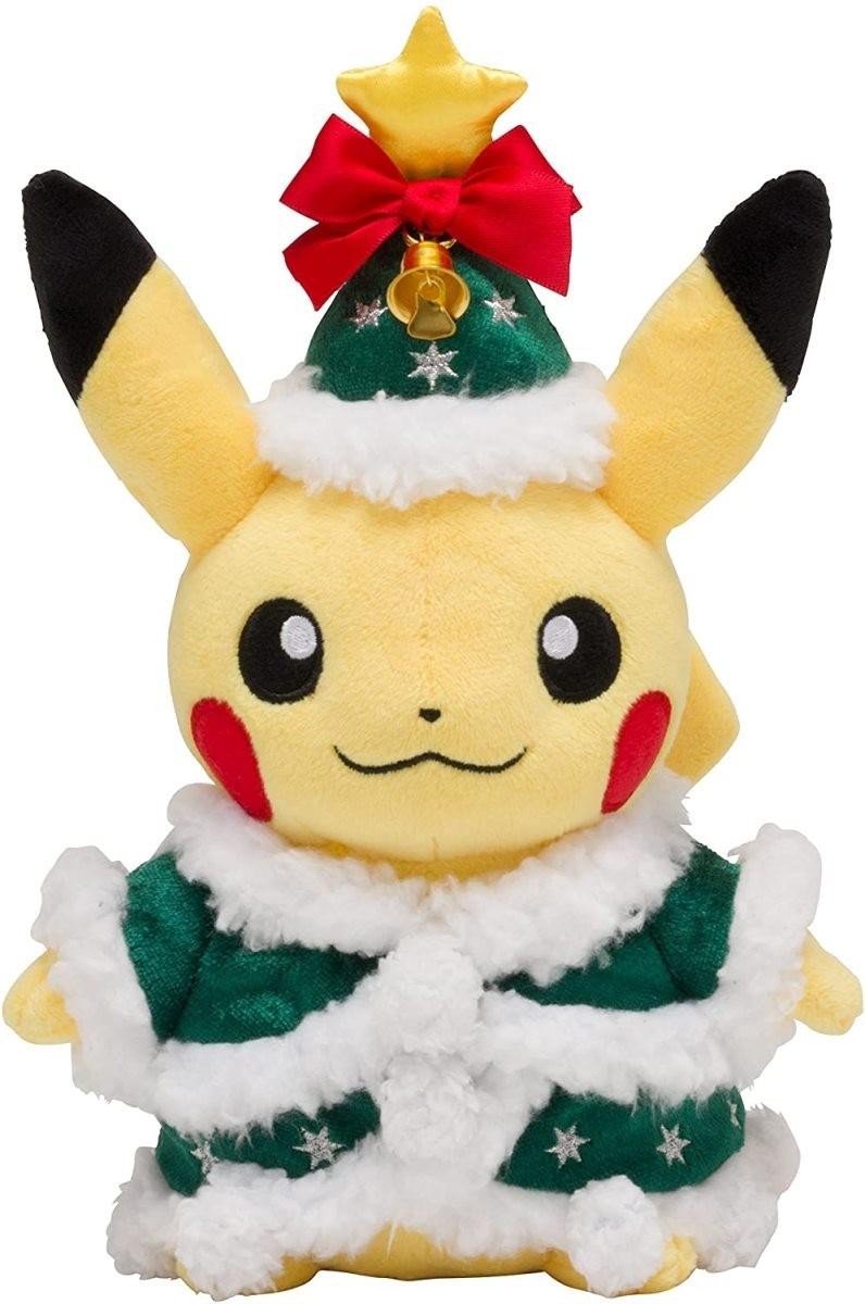 ポケモンセンターオリジナル ぬいぐるみ クリスマス2017 (ピカチュウ)の商品画像|ナビ