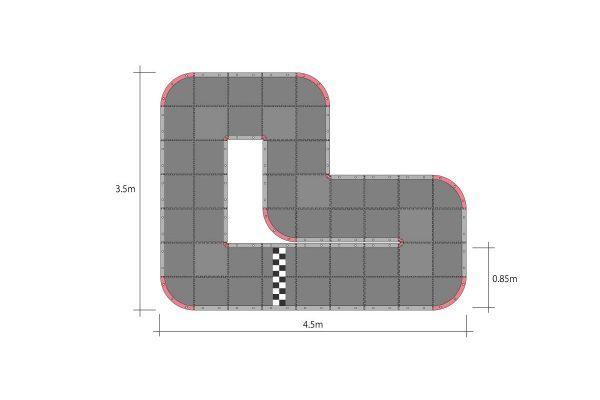 京商 ミニッツ グランプリ サーキット50 ショート (48pcs) 87052の商品画像 ナビ