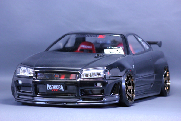 PANDORA RC NISSAN SKYLINE ECR33 2DOOR / BN Sports PAB-2166の商品画像|ナビ
