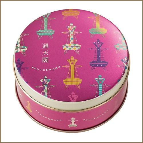 神戸風月堂 大阪ミニゴーフル 通天閣 6枚×1個の商品画像|2
