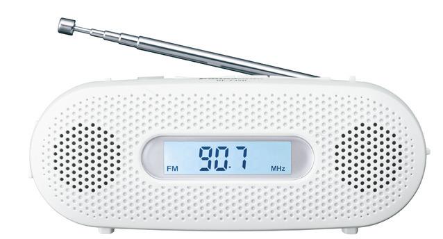 RF-TJ20-W (ホワイト)パナソニック 手回し充電ラジオ FM-AM 2バンドレシーバ