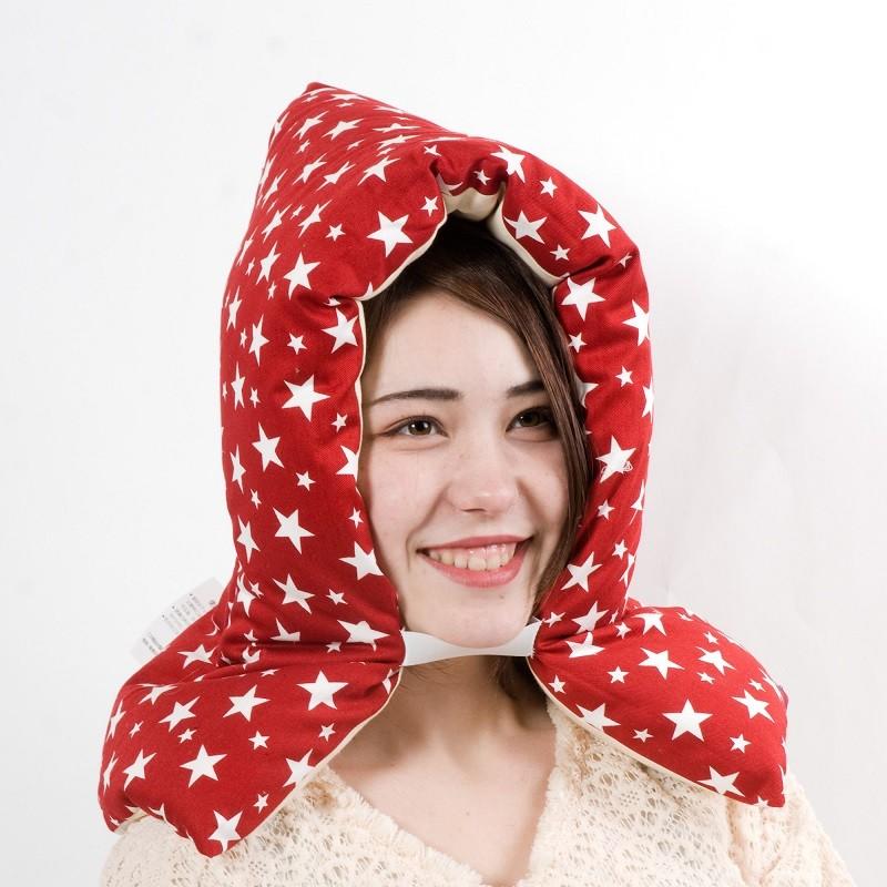 防災頭巾 送料無料 新しい綿を使用したこだわりの国産綿100%防災頭巾星柄小学生〜大人用 防災ずきん 低学年から高学年 色々柄 座布団や背もたれに