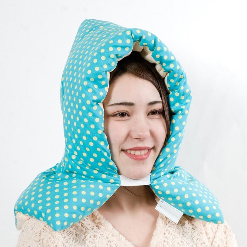 防災頭巾 新しい綿を使用したこだわりの国産綿100% 防災頭巾 ラメ入りエメラルド 日本製 小学生 中学生 高校生 キッズ子ども 大人用 柄多数 防災グッズ