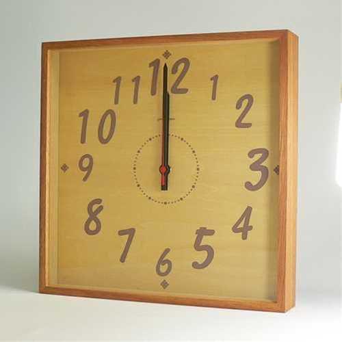時計 掛け時計 TASTE CLOCK(ナチュラル) 置き時計 TASTE CLOCK 1