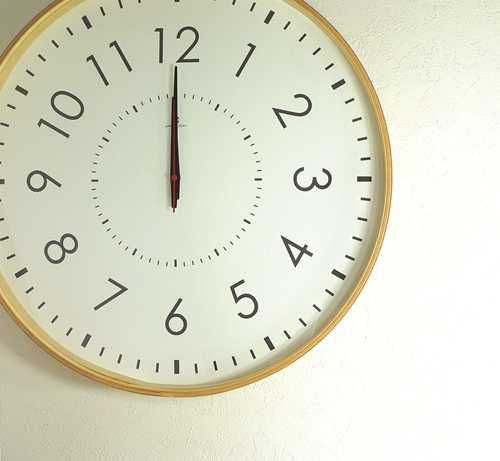 時計 掛け時計 LARGE CLOCK-電波時計- 電波時計 シンプル 50cm 1