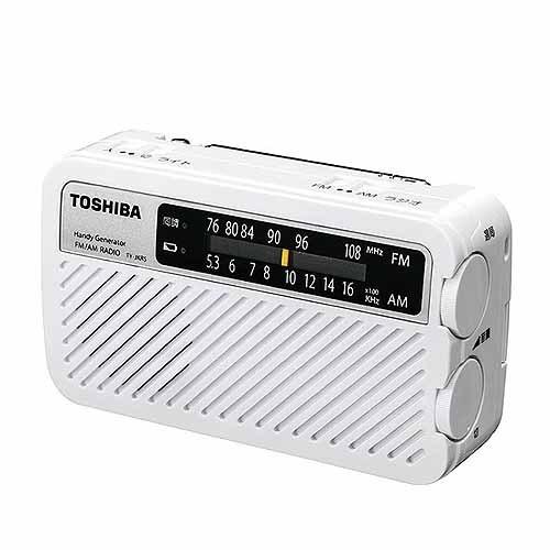 東芝 充電ラジオ TY-JKR5(W) ホワイト