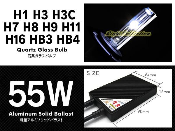 信玄 超薄型バラストHIDフルキット H8/H9/H11/H16 6000K 55W SH11-55-6Kの商品画像|2