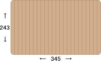 ウッドカーペット 江戸間6畳 260×350