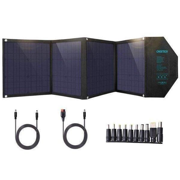 ソーラーパネル 折り畳み 充電器 蓄電池対応 ソーラーチャージャー 100W CHOETECH SC009 18ヶ月保証