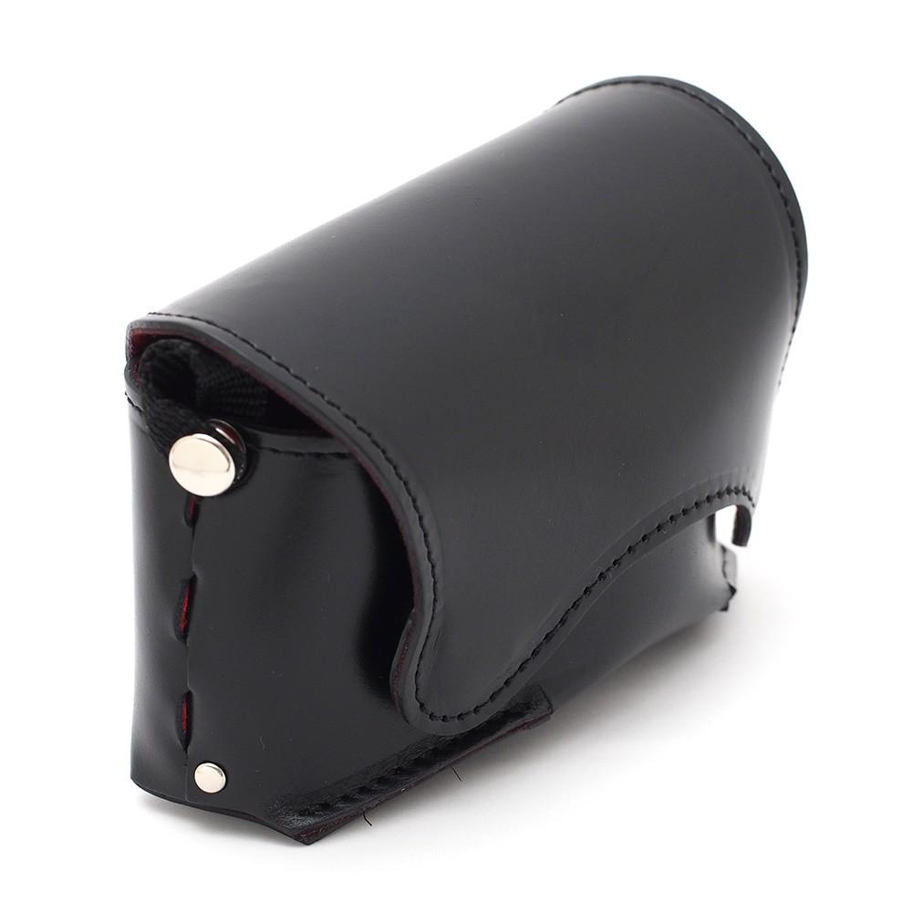 レザーカメラケース オルフェ01 LCO-01-BK (黒)の商品画像|4