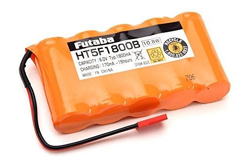 フタバ バッテリー HT5F1800B 4PK/空用(14SG・10J・8J・6J専用)送信機専用ニッケル水素電池の商品画像 ナビ