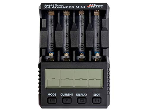 ハイテック 充電器 AA/AAA Charger X4 Advanced Mini (ブラック) 44293の商品画像|ナビ