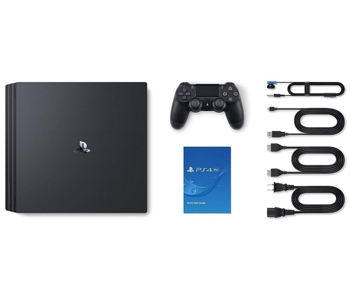 PlayStation4 Pro ジェット・ブラック 1TB CUH-7200BB01の商品画像|3