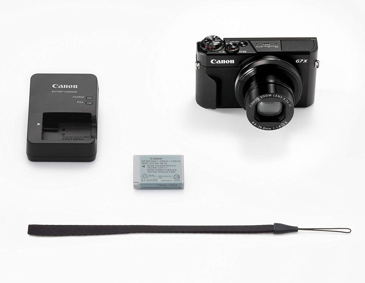 キヤノン パワーショット PowerShot G7 X Mark II(ブラック)の商品画像|2