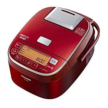 パナソニック 可変圧力IHジャー炊飯器 おどり炊き SR-PA105(R) (レッド) [圧力IH炊飯器 5.5合]の商品画像|2