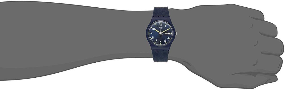 スウォッチ ジェント SIR BLUE GN718(BL/BLラバー)の商品画像|2