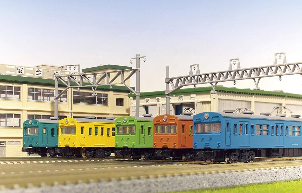 カトー KATO 通勤電車103系 KOKUDEN-003 ウグイス 3両セット 10-037の商品画像|3